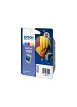 Epson T020 - Print cartridge - 1 x color (cyan, magenta, yellow) - 360 pages