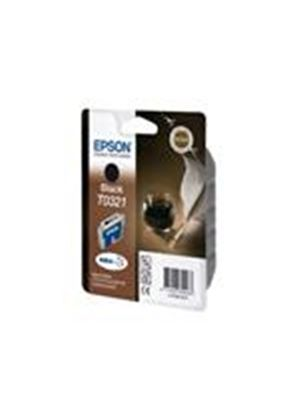 Epson T0321 - Print cartridge - 1 x pigmented black - 1240 pages