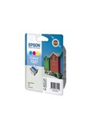 Epson T037 - Print cartridge - 1 x color (cyan, magenta, yellow) - 180 pages