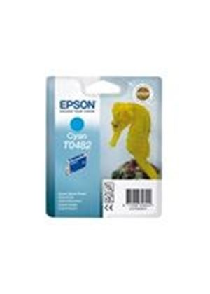 Epson T0482 - Print cartridge - 1 x cyan - 430 pages