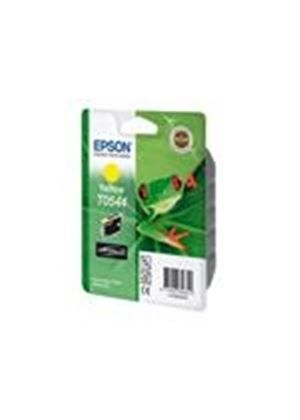 Epson T0544 - Print cartridge - 1 x pigmented yellow - 400 pages