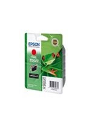 Epson T0547 - Print cartridge - 1 x pigmented red - 400 pages