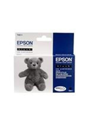 Epson T0611 - Print cartridge - 1 x pigmented black - 250 pages