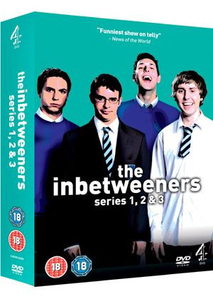 The Inbetweeners - Series 1 - 3 - Complete