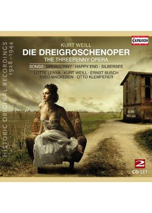 Kurt Weill: Die Dreigroschenoper; Songs (Music CD)