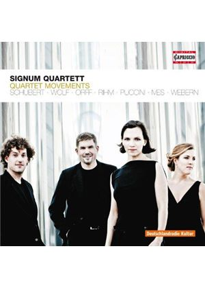 Quartet Movements (Music CD)