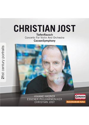 Christian Jost: Cocoon Symphony; Violin Concerto (Music CD)