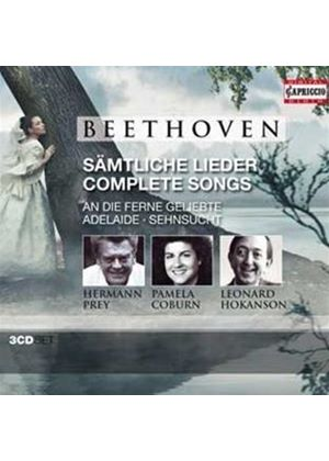 Beethoven: Complete Songs (Music CD)