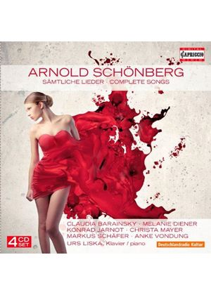Schoenberg: Complete Songs (Music CD)