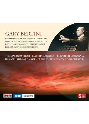 Gary Bertini conducts Debussy, Ravel, Berlioz & Mahler (Music CD)
