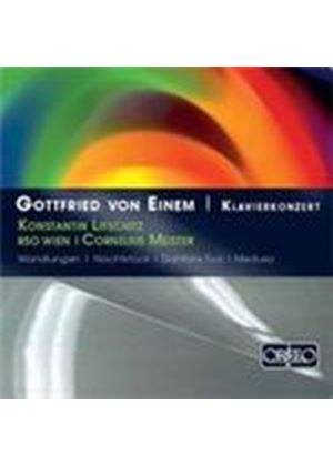 Einem: Concerto for Piano and Orchestra (Music CD)