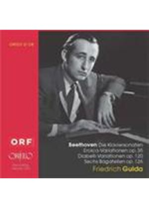 Friedrich Gulda plays Beethoven (Music CD)