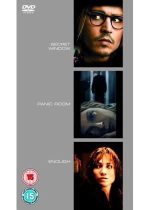 Secret Window / Panic Room / Enough (Three Discs)