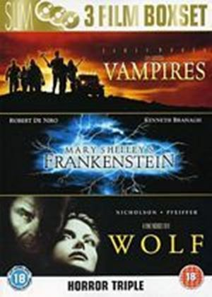Wolf / John Carpenters Vampires / Mary Shellys Frankenstein (3 Disc Box Set)