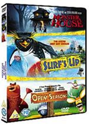Surfs Up / Open Season / Monster House