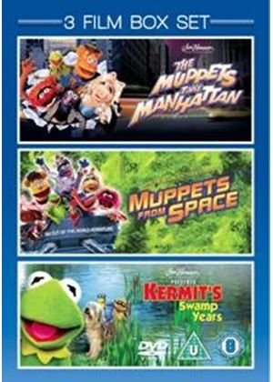 Muppets Take Manhattan / Muppets From Space / Kermit's Swamp Years