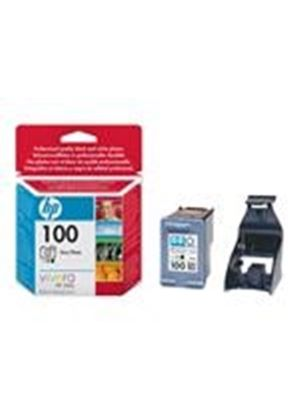 HP 100 - Print cartridge (photo) - 1 x gray photo (light gray, dark gray, photo black)