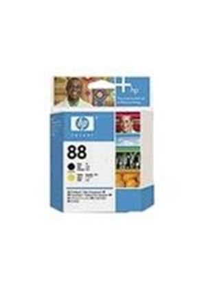 HP 88 - Printhead - 1 x black, yellow