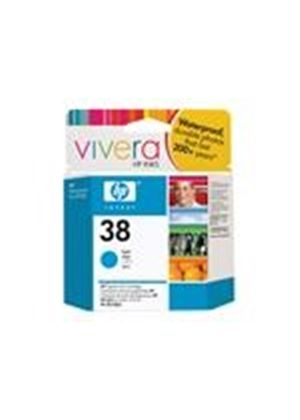 HP 38 - Print cartridge - 1 x pigmented cyan