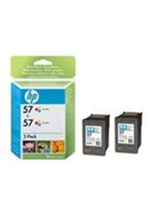 HP 57 - Print cartridge - 2 x color (cyan, magenta, yellow) - 400 pages