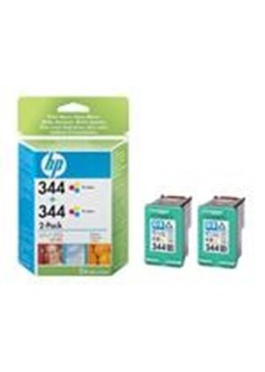 HP 344 - Print cartridge - 2 x color (cyan, magenta, yellow) - 450 pages