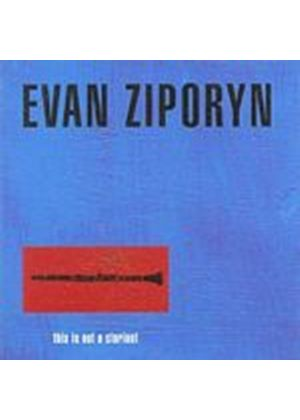 Evan Ziporyn - This Is Not A Clarinet (Music CD)