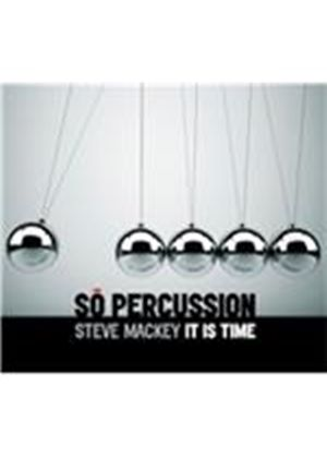 So Percussion - Steve Mackey (It Is Time/+DVD)