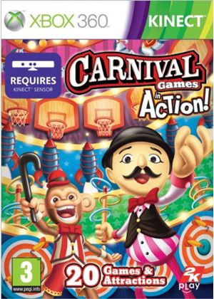 Carnival Games - In Action (Kinect) (XBox 360)