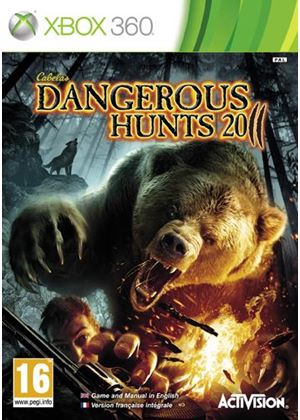 Cabela's Dangerous Hunts 2011 - Game Only (XBox 360)