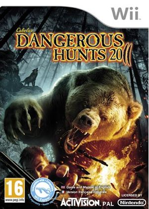 Cabela's Dangerous Hunts 2011 - Game Only (Wii)