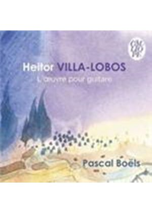Villa-Lobos: Works for Guitar (Music CD)