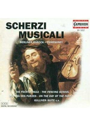 VARIOUS COMPOSERS - Scherzi Musicali (Berliner Barock Co.)