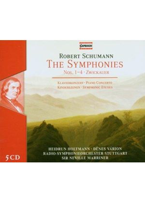 Schumann: Complete Symphonies; Piano Concerto