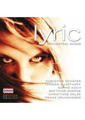 Lyric: Orchestral Songs (Music CD)