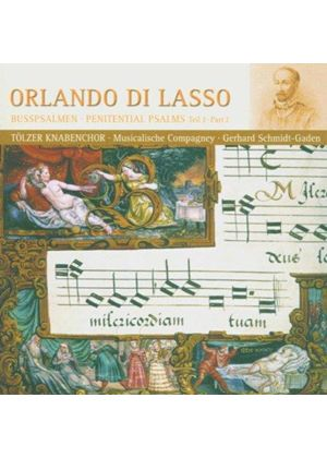 Lassus: Penitential Psalms, Vol 2