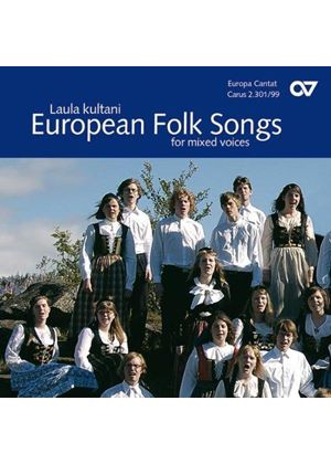 VARIOUS COMPOSERS - European Folk Songs For Mixed Voice (Choirs Of Europe)