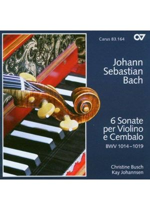 Bach: (6) Sonatas for Violin and Harpsichord