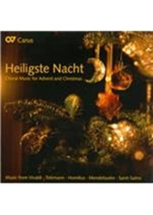 Heiligste Nacht: Choral Music for Advent & Christmas (Music CD)