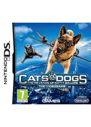 Cats & Dogs - The Revenge of Kitty Galore: The Videogame (Nintendo DS)