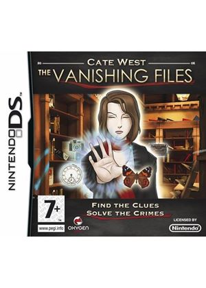 Cate West - The Vanishing Files (Nintendo DS)