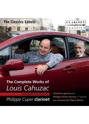 Complete Works of Louis Cahuzac (Music CD)