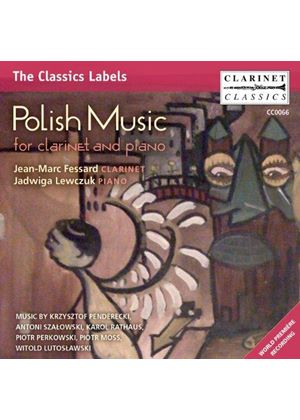 Polish Music for Clarinet and Piano (Music CD)