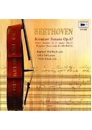 Beethoven: Sonatas Opp 17 & 47, arranged for Cello
