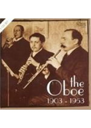 Various Composers - The Oboe 1903 - 1953 (Music CD)