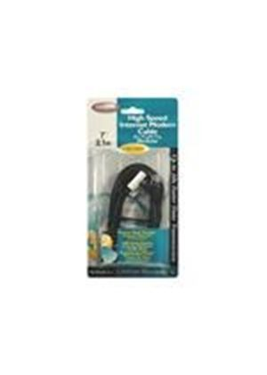 Belkin High Speed Internet Modem Cable - Phone cable - RJ-11 (M) - BT (M) - 4.6 m - ( CAT 5 )