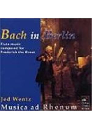 Bach; Bach, CPE; Graun: Flute Chamber Works