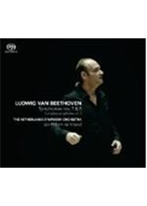 Beethoven: Complete Symphonies Vol. 3 - Symphonies Nos. 7 & 8 [SACD] (Music CD)