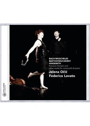 Kreutzer-Sonata and Other Works for Violoncello & Piano (Music CD)