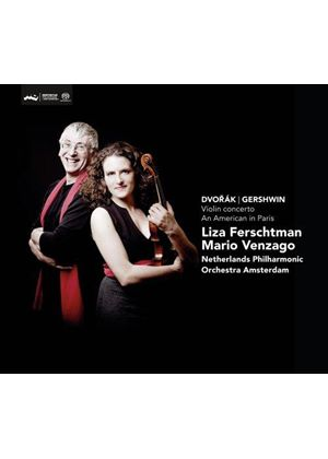 Dvorak: Violin Concerto; Gershwin: An American in Paris [SACD] (Music CD)