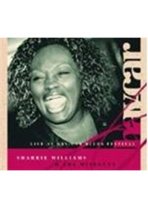 SHARRIE WILLIAMS - LIVE AT BAY-CAR BLUES FESTIVAL